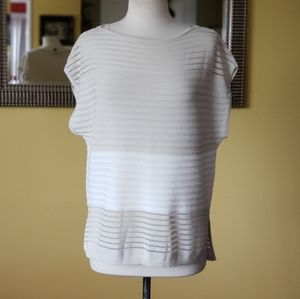 NWOT WHBM Ribbed Tunic/Top Size Small